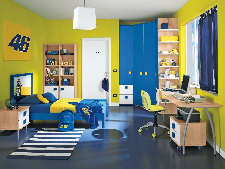 Franco arredamenti dormitoare moderne copii 12 - Camera da letto bambino ...
