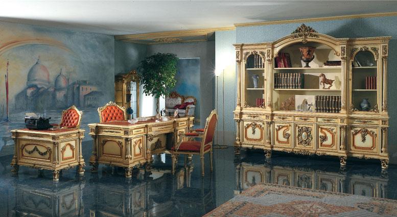 FRANCO ARREDAMENTI - Sala da pranzo stile baroccoveneziano 2