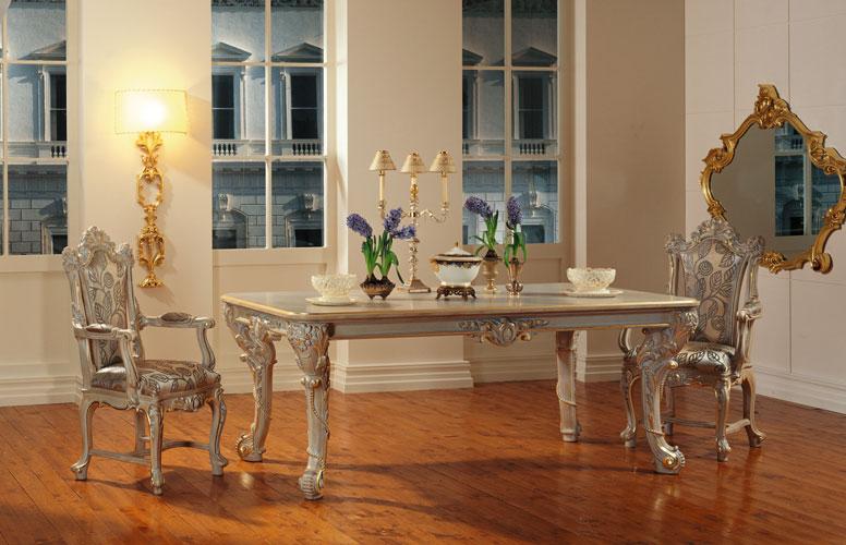 Franco Arredamenti Sala Da Pranzo Stile Barocco Veneziano 7