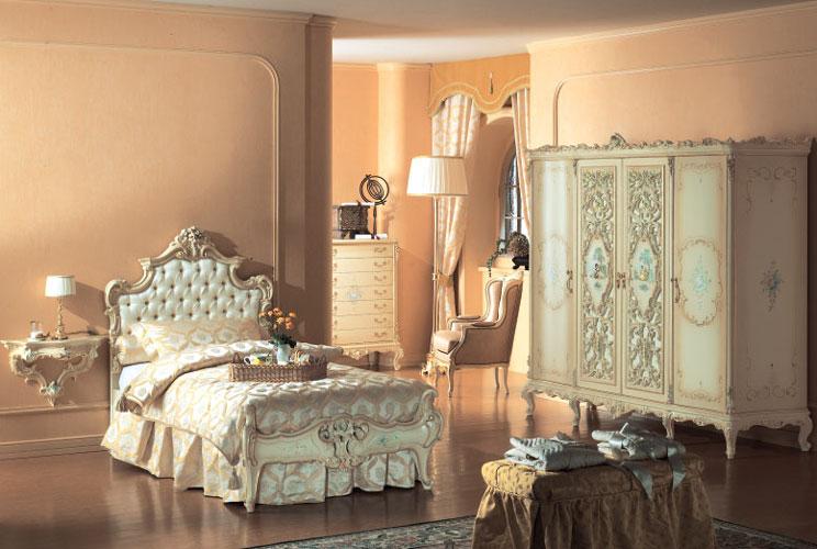 FRANCO ARREDAMENTI - Camera da letto stile barocco veneziano 1