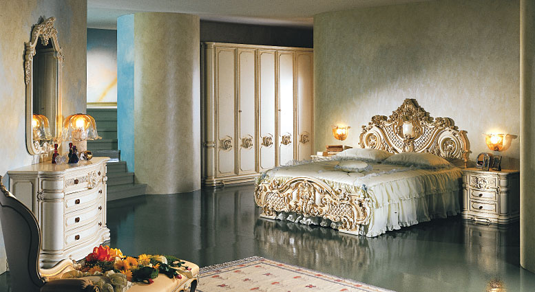 FRANCO ARREDAMENTI - Camera da letto stile baroccoveneziano11