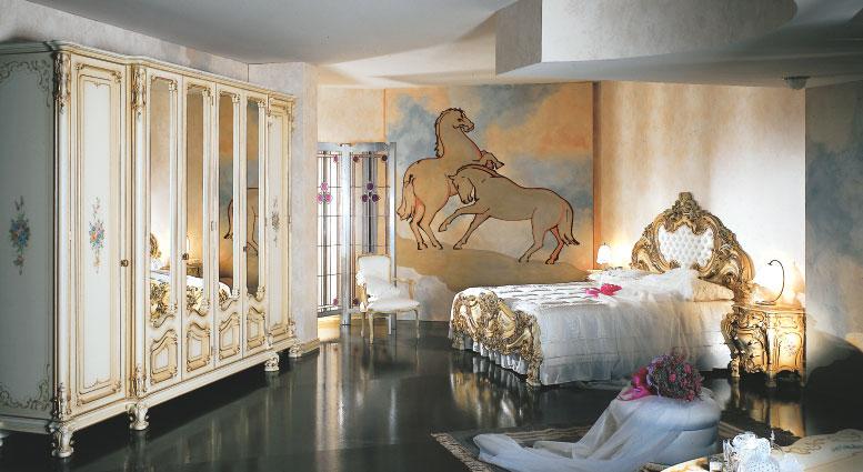 8 - Camera da letto stile veneziano ...