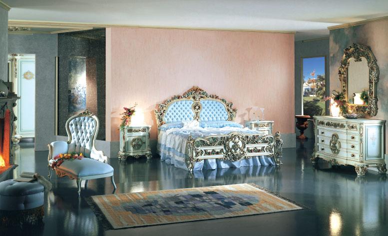 FRANCO ARREDAMENTI - Camera da letto stile barocco veneziano3