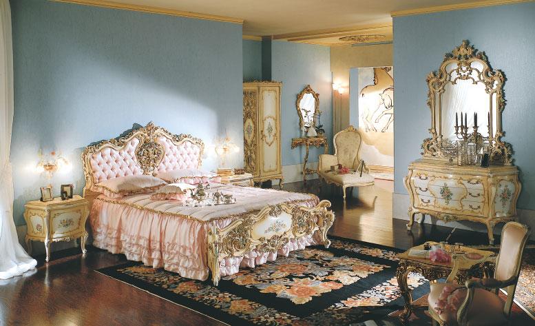 8 - Camera da letto barocco ...