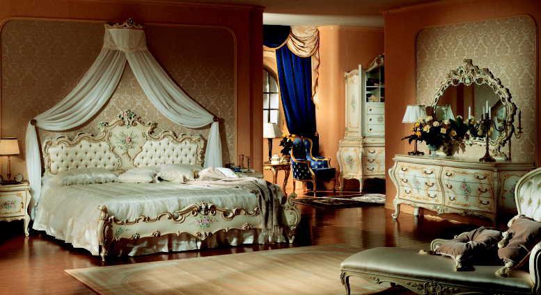 FRANCO ARREDAMENTI - Camera da letto stile barocco veneziano 8